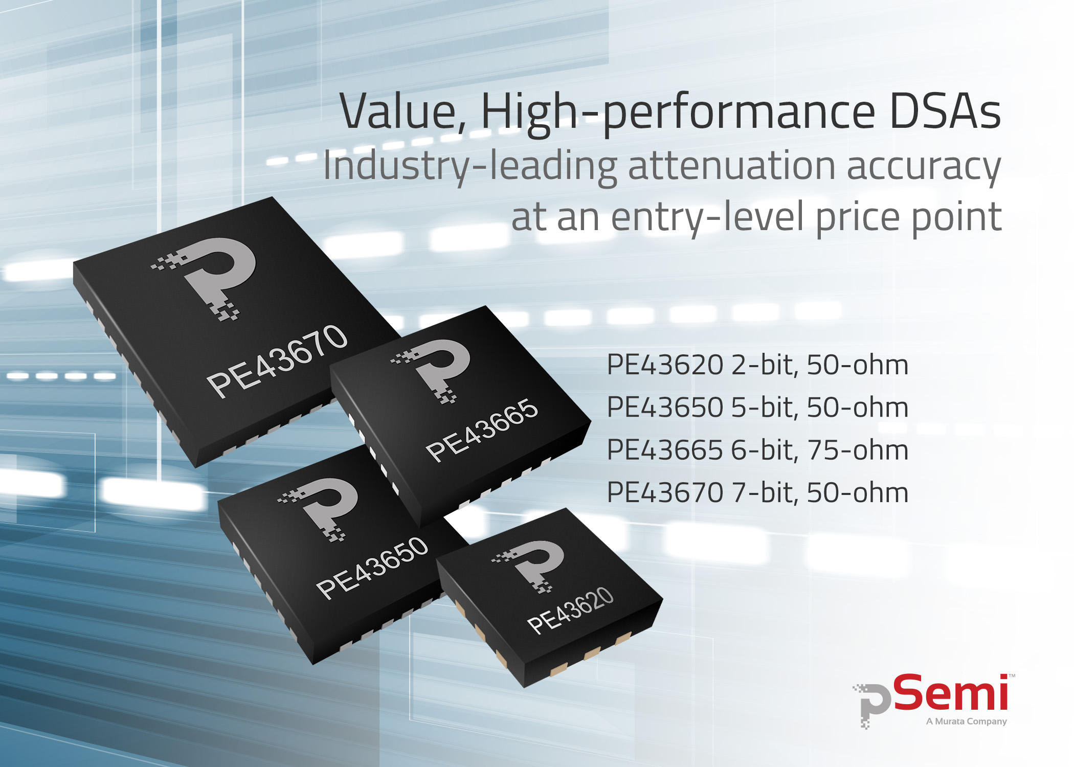 pSemi Value DSAs