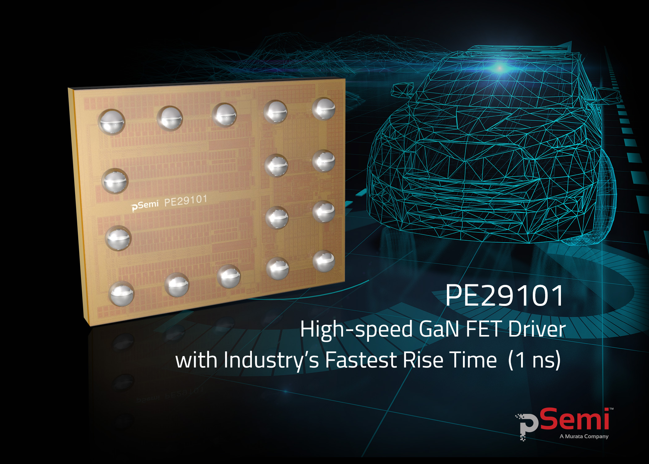 Psemi Gan Fet Driver Delivers Fast Switching To Solid State Lidar Pulsed Laser Diode Circuit Cost Pe29101 For Applications