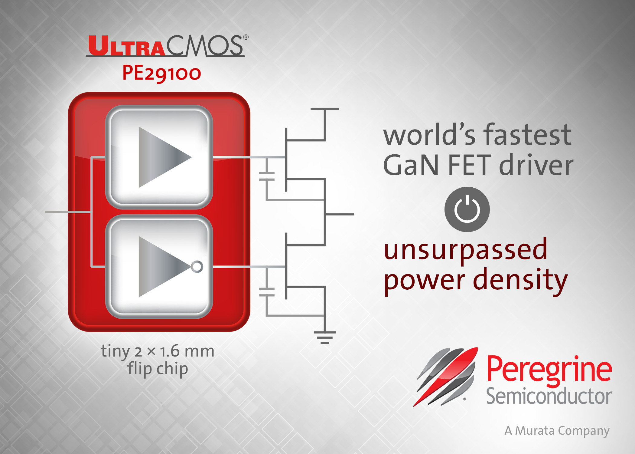Peregrine Semiconductor Unveils The Worlds Fastest Gan Fet Driver Touch Switch Using