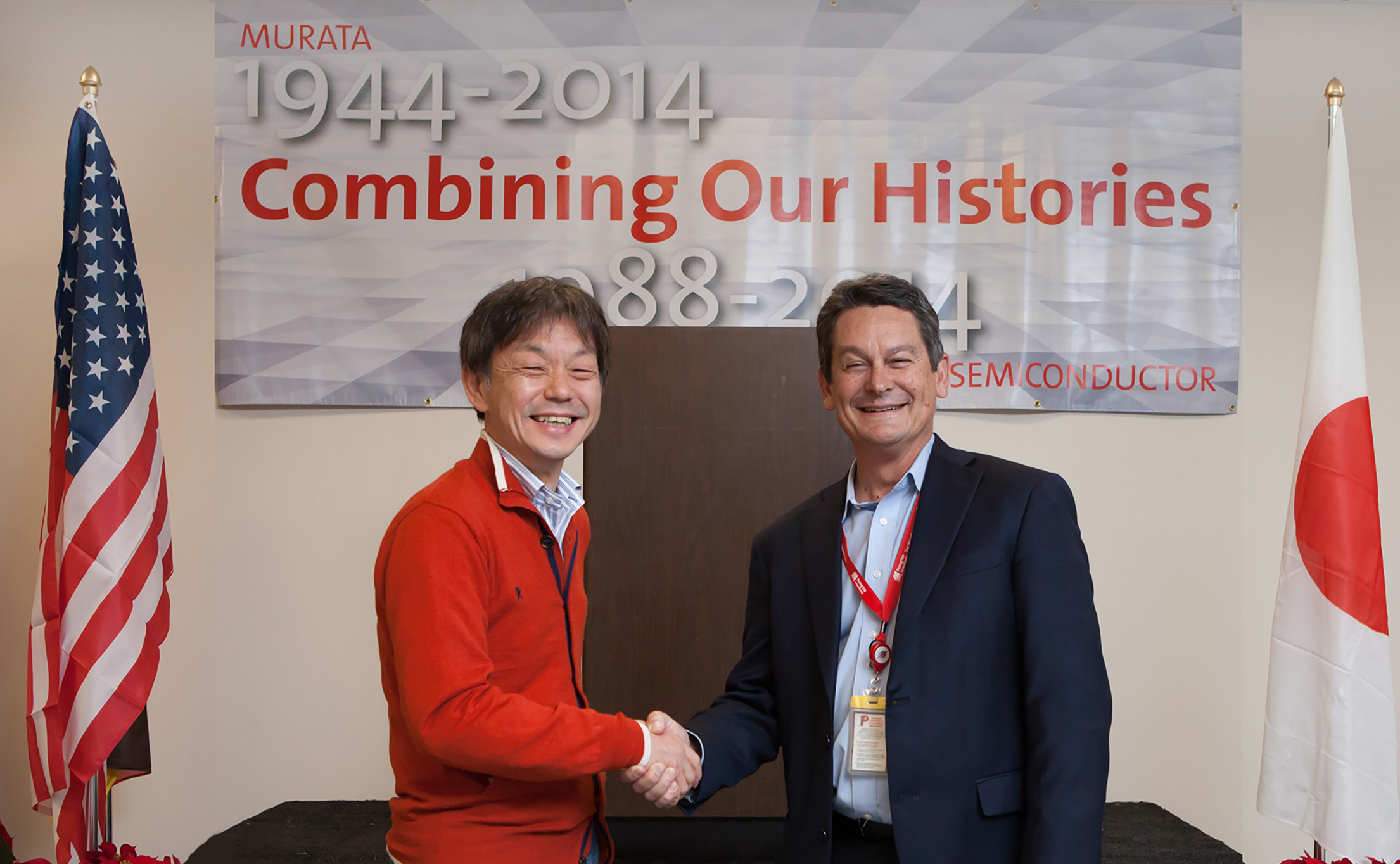 Peregrine Semiconductor Hosts Ceremony After Close of Murata