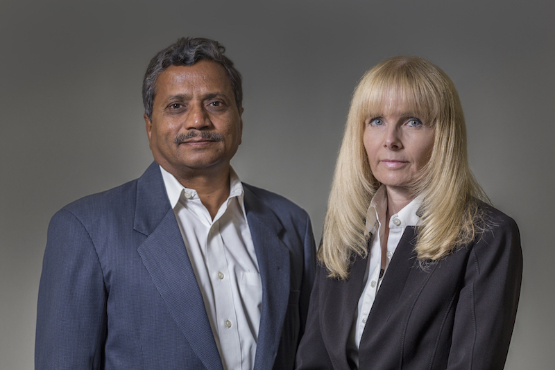 pSemi promotes Anil Tata (left) and Donna Fenn (right).
